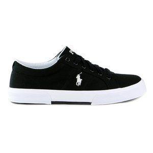 RALPH LAUREN POLO Black Flexistow Men's Sneakers